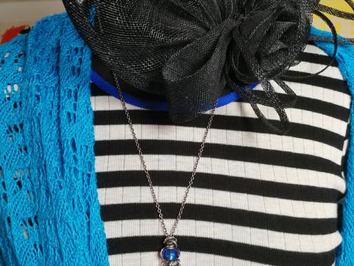 Mit strikkede sjal