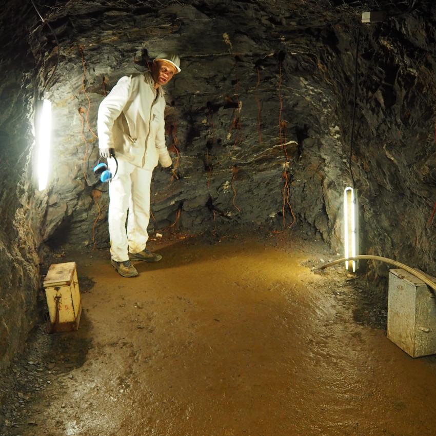 Fotos fra minen