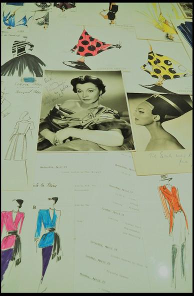 Haute Couture designer Erik Mortensens skitser