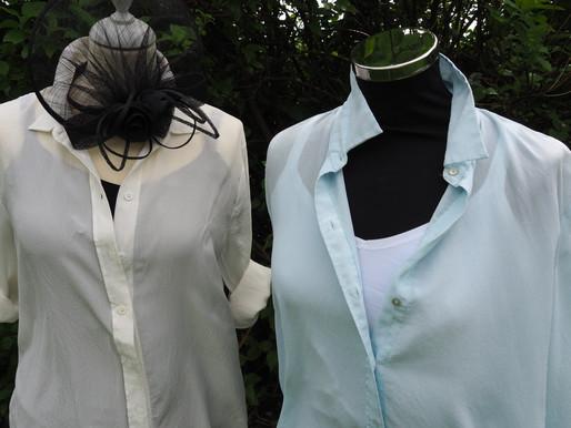 Forlæng blusen med en basistop eller stram nederdel