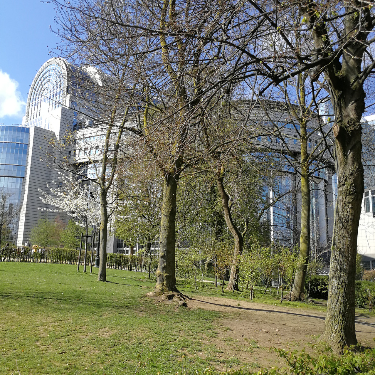 Parken ved Europa-Parlementet