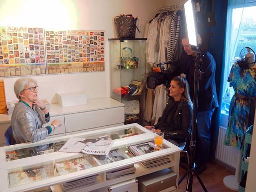 TV2 interview og optagelse