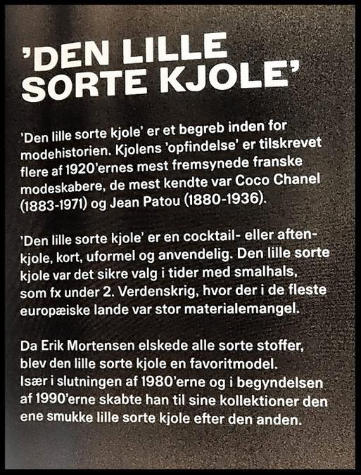 Haute Couture designer Erik Mortensens udstilling
