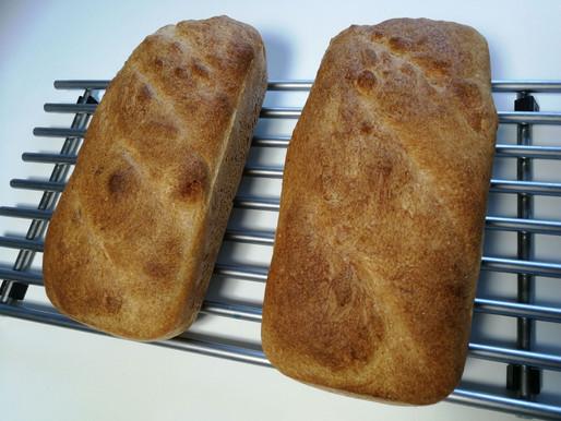 Et lækkert hjemmebagt brød