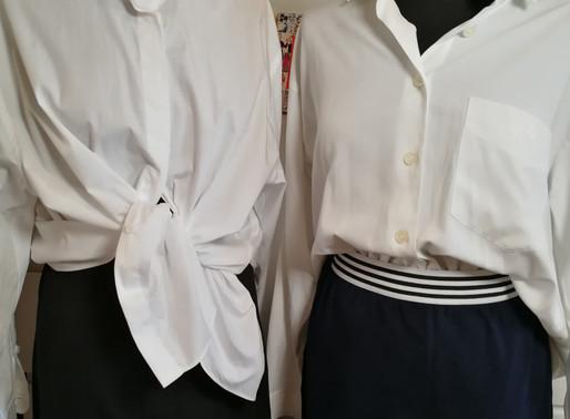 Den tidløse klassiske hvide skjorte