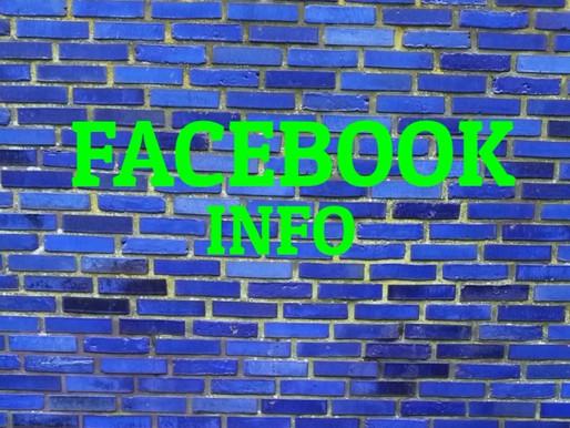 Facebook info