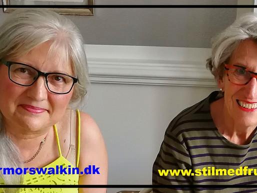 To seniorbloggere på café