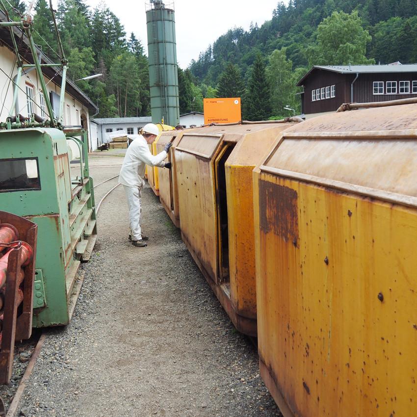 Togvogne til at transportere os