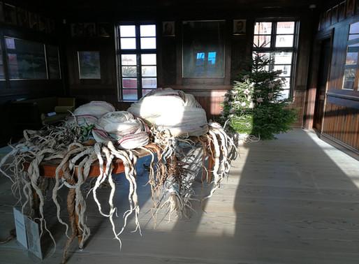 Julepynt i Brøndums spisesal