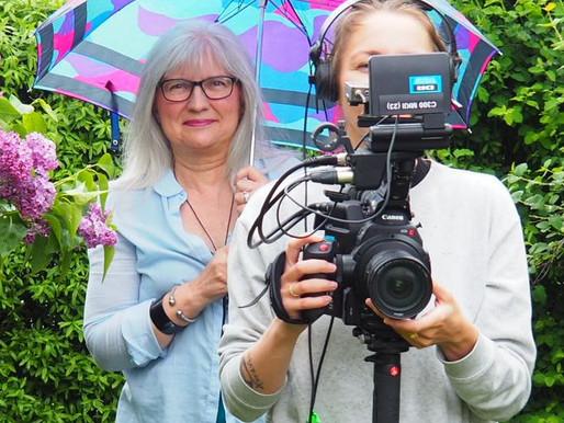 En senior-modeblogger i TV på DR2