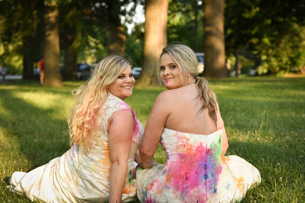 Trash the dress session featured in STL Best Bridal.