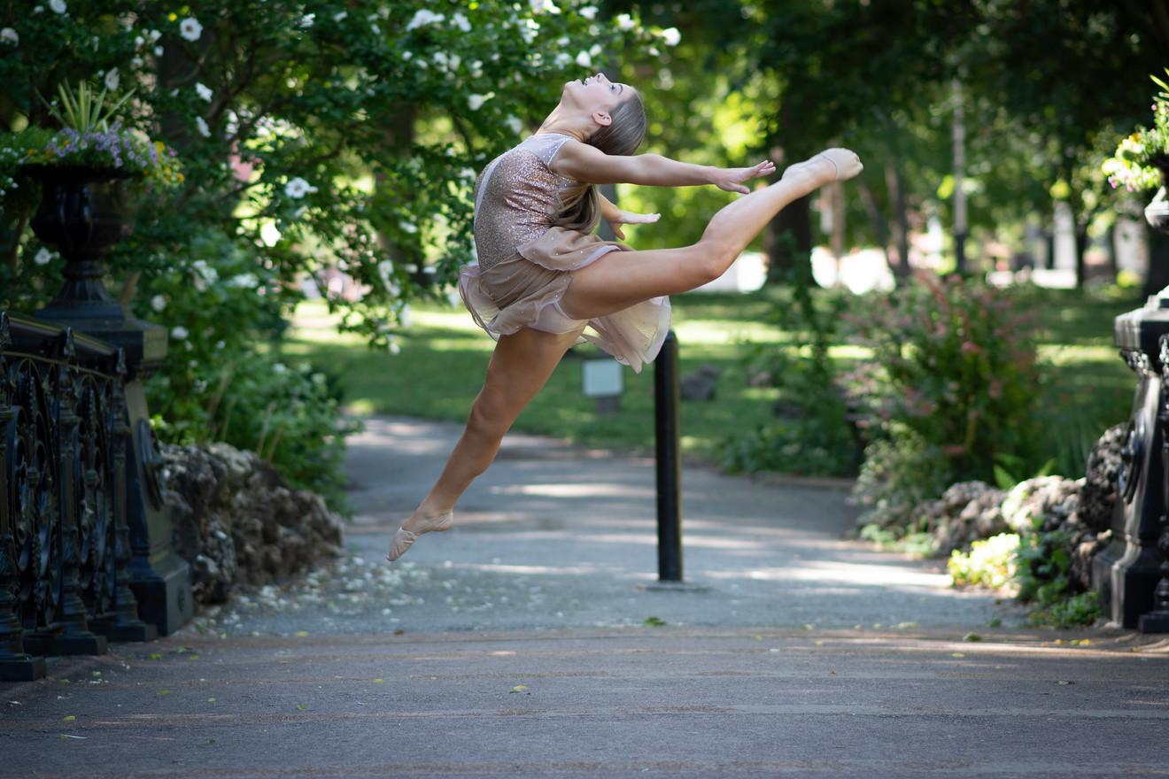 dancer, toe, balletl leap