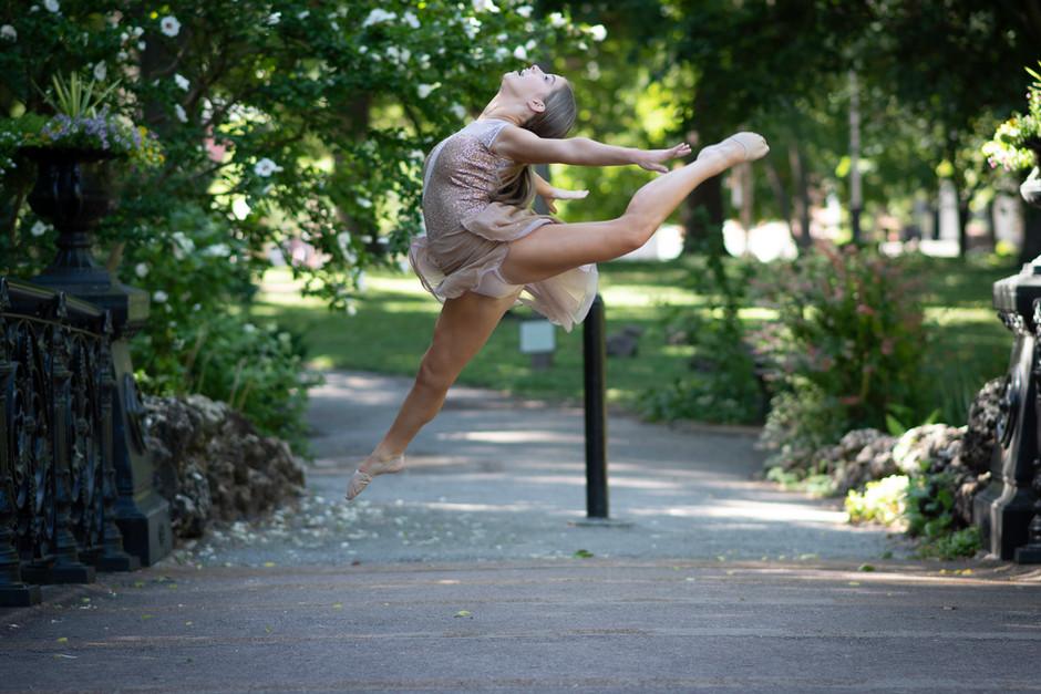 dance ballet toe shoe leap