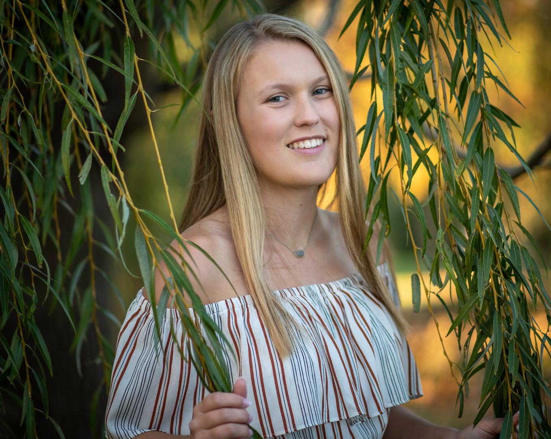 high school senior girl willow