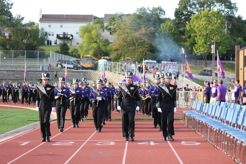 marching band, high school, uniform