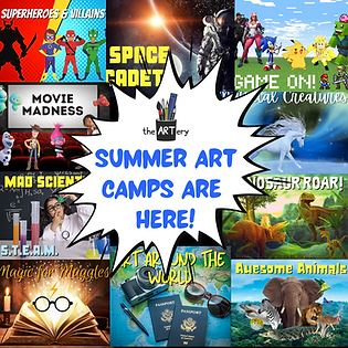 Summer ARt Camps are Back!!.png