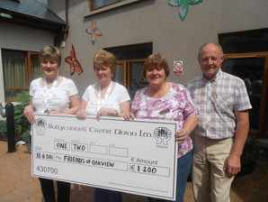 Nursing Home Week - Successful fund raising & Generous Donations