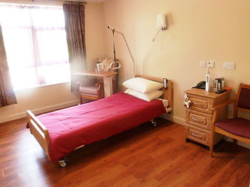 Single Bedroom at Oak View Nursing Home, Cavan