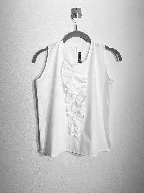 Camicia rouches donna