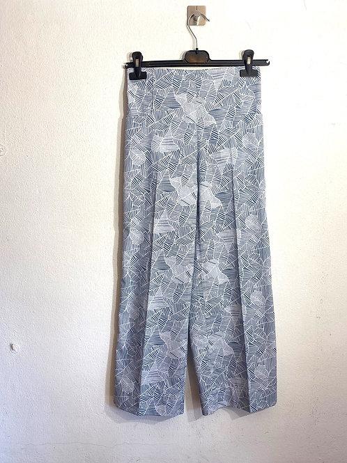 Pantalone donna cotone fantasia