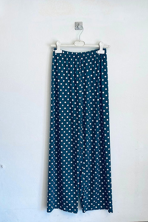 Pantalone palazzo jersey donna