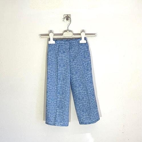 Pantalone bimba gamba larga