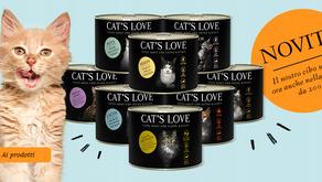 CAT'S LOVE ora disponibile anche in formato lattina da 200 gr