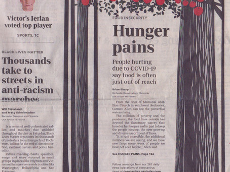 Hunger Pains: People hurting due to COVID-19 say food is often just out of reach