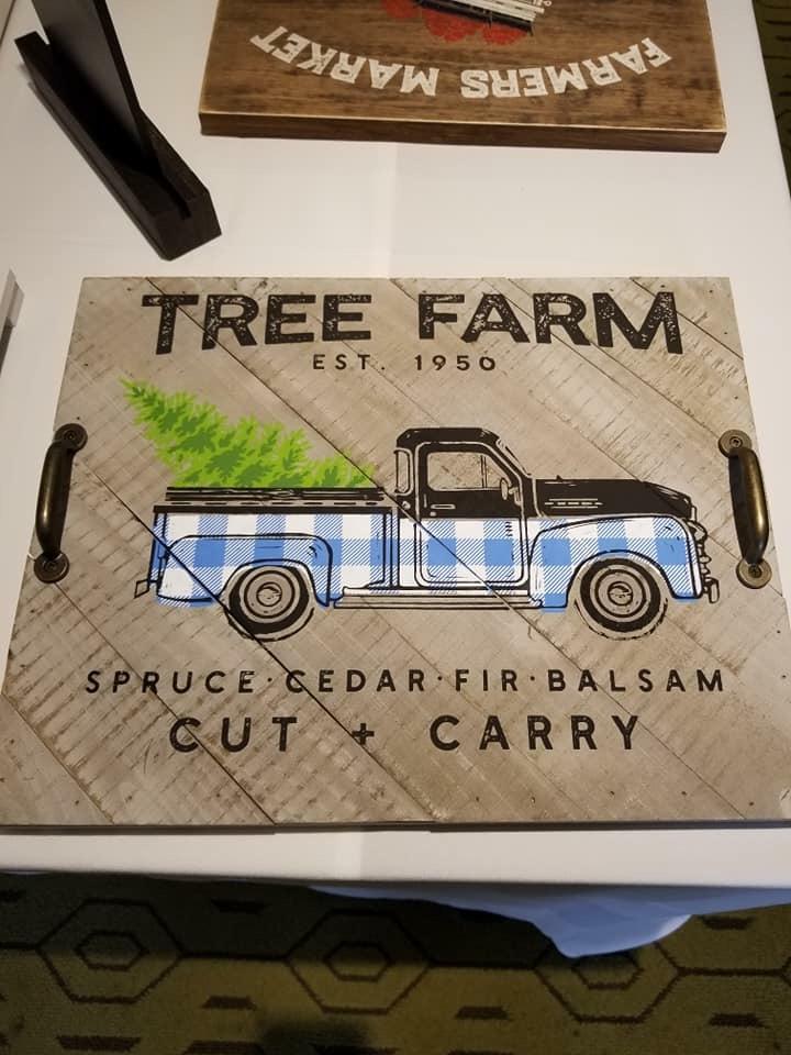 Vintage Truck platter