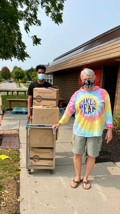 Put your hands in the air and give Betsy Carter Schauf a virtual high five 🙌 for joining our delivery team. That means 5-7 more individual or families who are unable to come out to pick up their food due to illness, or elderly or lack transportation, can now feed themselves and/or their family. We are so grateful for her. Betsy, welcome to the BTS Family!