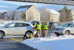 There was a line of cars but RPD Interns kept it moving at our first drive-thru Food Pantry distribution. Now we don't have to worry about our friends standing and waiting in long lines outside in the cold. Thanks to all of our team those working inside and outside.