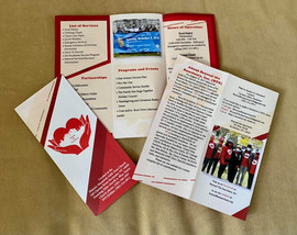 "Our new brochure is here!  Thank you, Jake Czubinski of ""Catchafire"" for the great design work and to Jason Henderberg of Henderberg Foundation  for donating the printing. We appreciate you sharing your time, talents and resources to it possible."