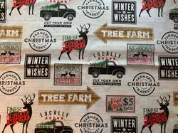 Trucks and Deer
