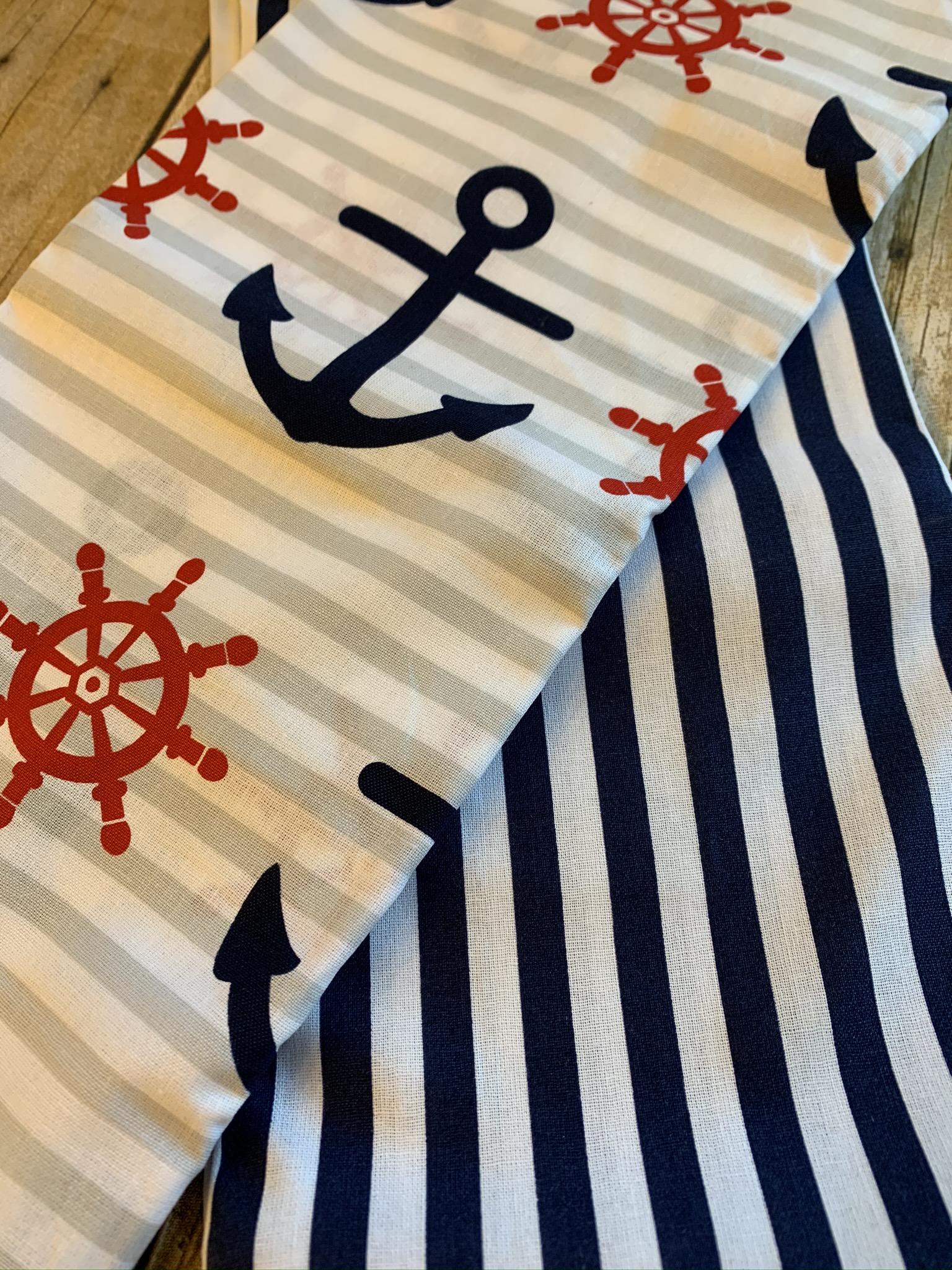 A-Hoy Matey & Blue Stripe