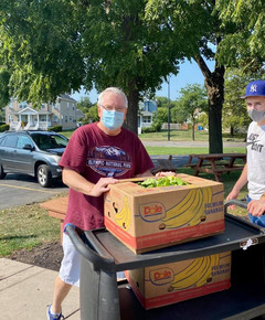BTS is grateful for the generous donations of produce brought to us by Dave DuPont from Fairport United Methodist Church. Thank you, Dave.