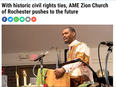 With historic civil rights ties, AME Zion Church of Rochester pushes to the future