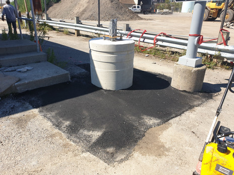 Hot asphalt repair