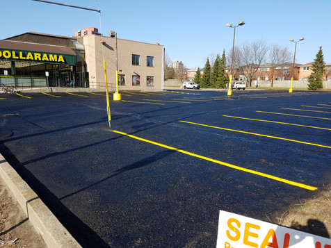 blacktop and line painting