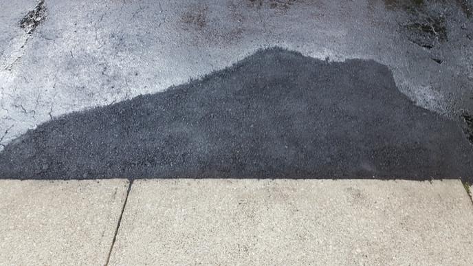 asphalt repair after