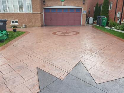 Stamped Concrete - Semi Gloss