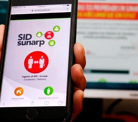 Sunarp viene dando pasos importantes en la simplificación y virtualización de trámites