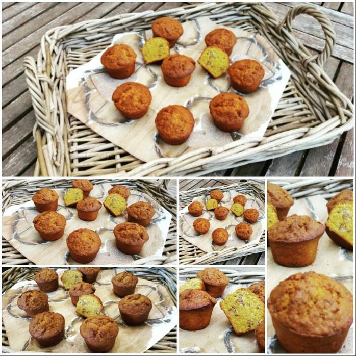 Muffins Carrot Cake au cumin, gingembre et muscade