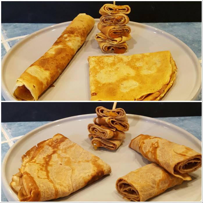 Défi chandeleur Bonne Maman, des recettes de crêpes pour accompagné des confitures Bonne Maman.