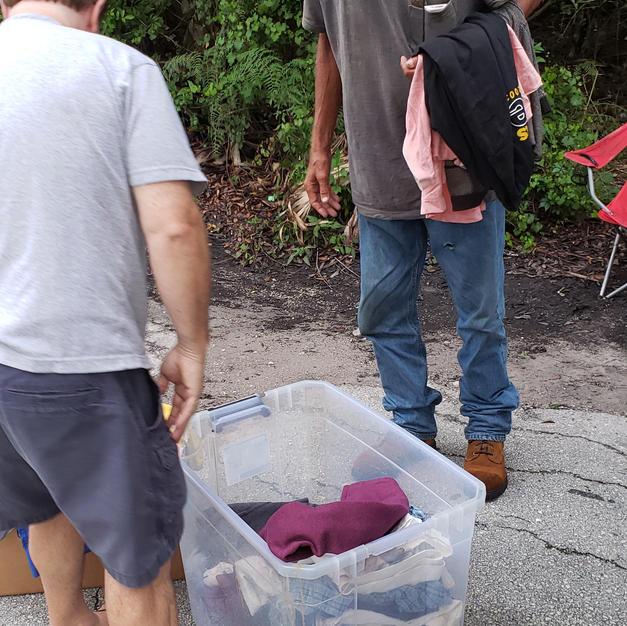 Distributing Clothing