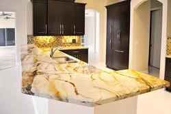 contemporary kitchen granite