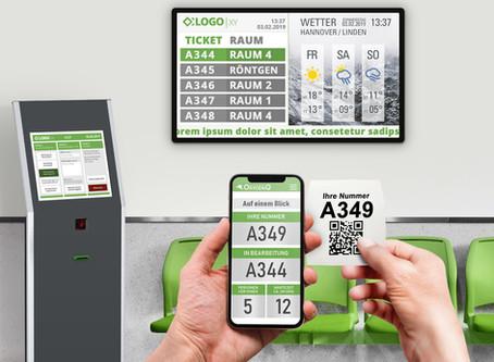 Covid-19 in Deutschland - Patientenaufrufsysteme erhöhen Sicherheit für Patienten und Personal