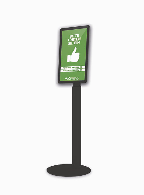 "Digitale Kundenampel 21,5"""