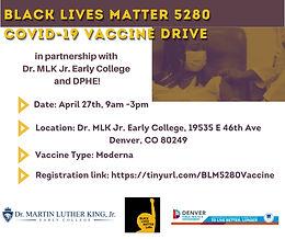 BLM5280 Vaccine Drive