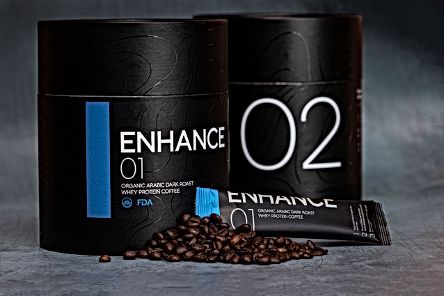 Enhance whey protein coffee