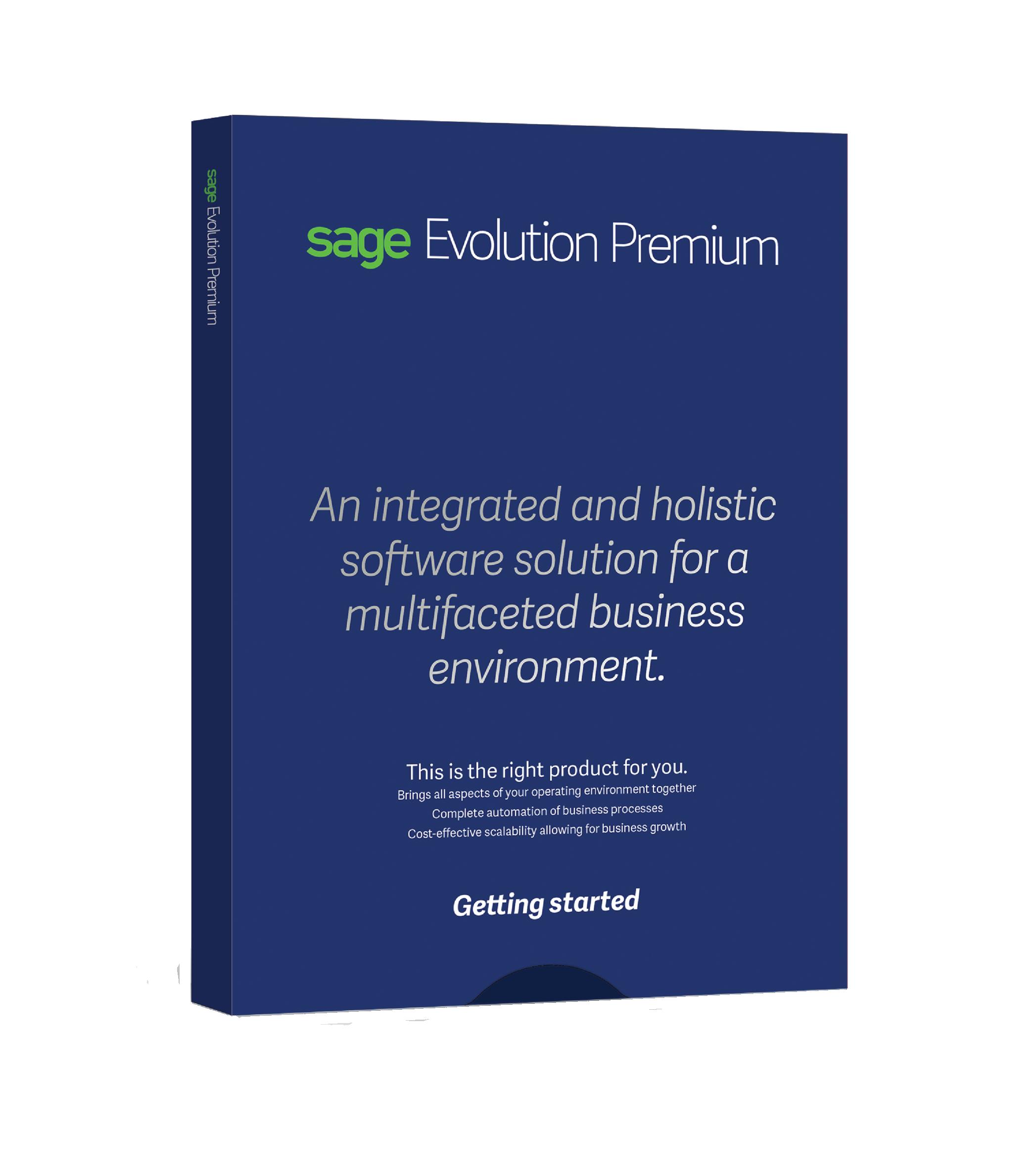 Sage Evolution ERP Premium